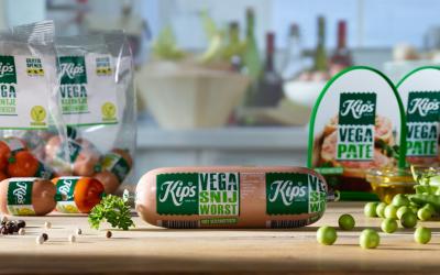 'Liever Kips vegetarische leverworst…'
