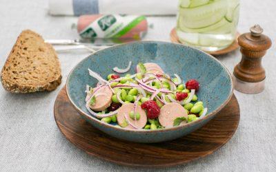 Salade van sojaboontjes